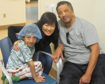 Luis, Suzy, & Dad